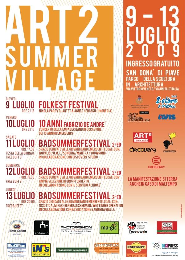 Art2 Summer Village 2009